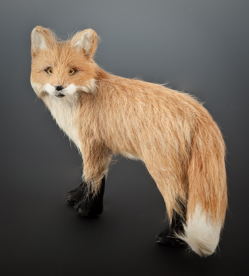 Fox Red Figurine Is Meticulously Crafted In Stone Resin And Hand Painted By Talented Artists The Fur We Use A Product Of Food Processing